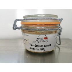 Foie gras conserve
